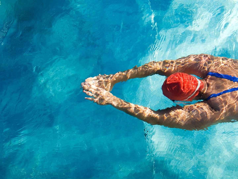 Schwimmen ist auch für HIV-Postive gut