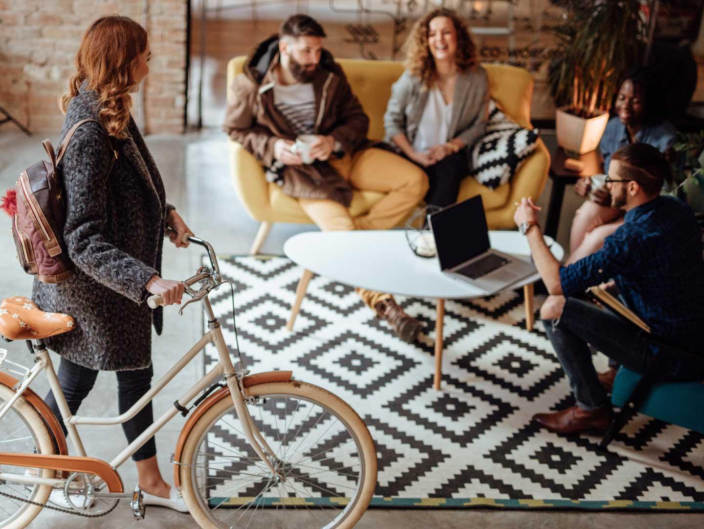 Treffen mit Arbeitskollegen